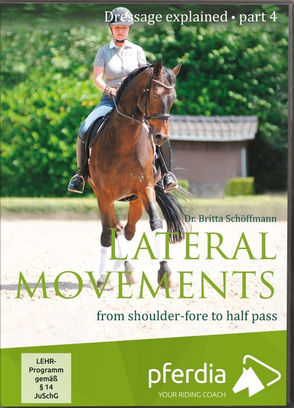 Dressage Explained Part 4 Lateral Movements from shoulder fore to half pass DVD