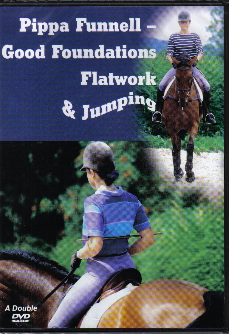 Pippa Funnell Double DVD Good Foundations Flatwork and Jumping from Trot-Online