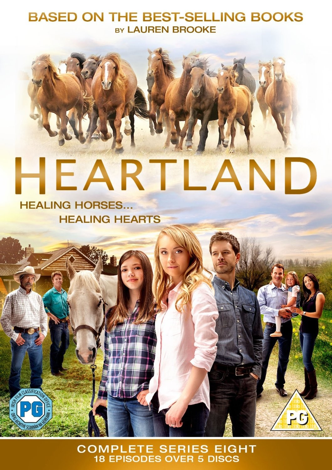 Heartland The Complete Series Eight DVD Box Set from trot-online
