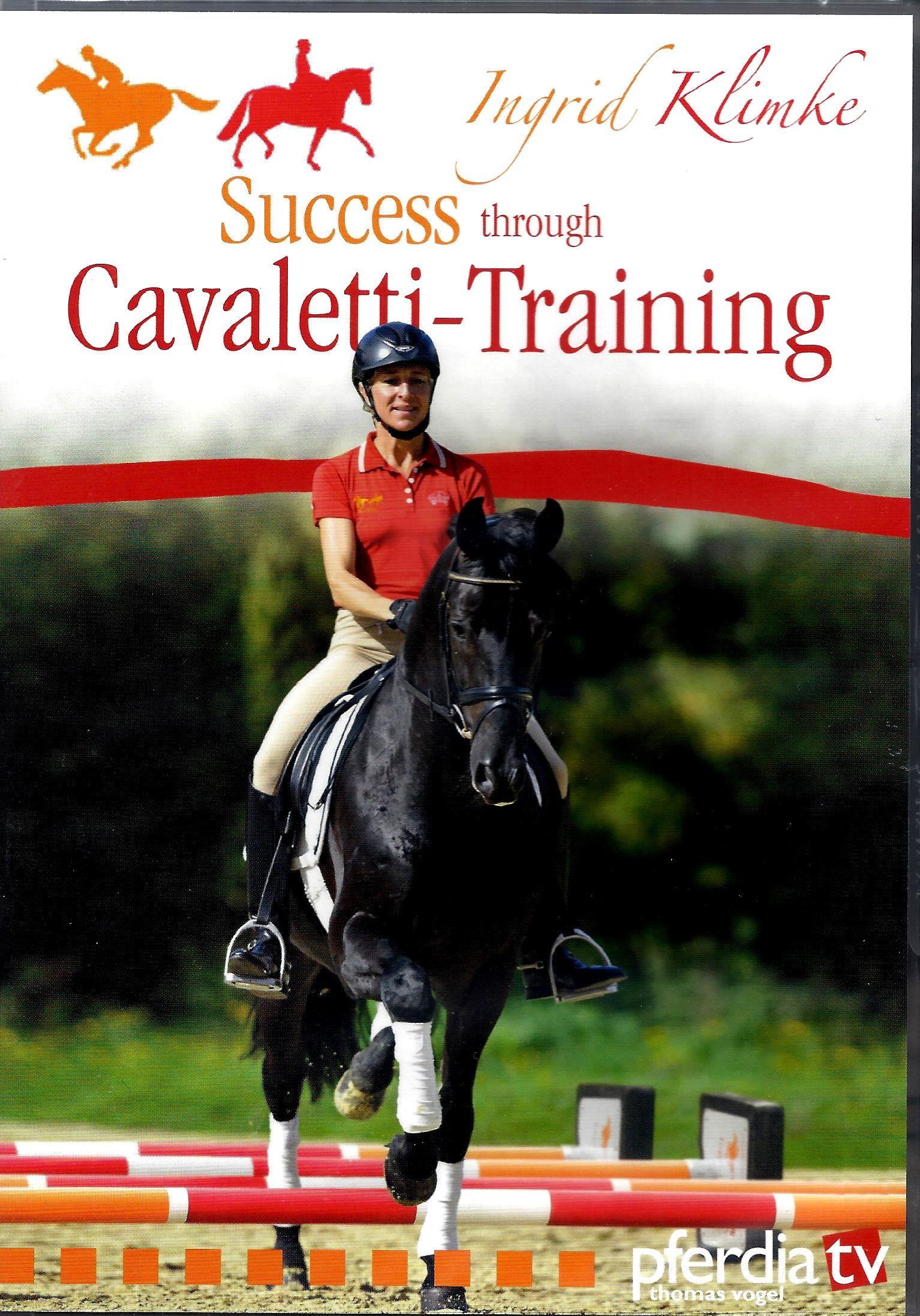 DVD Ingrid Klimke Success through Cavaletti Training from trot-online