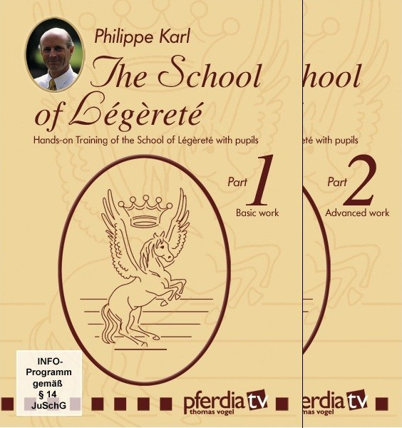 The School of Legerete Philippe Karl 2 part DVD Set from Trot-Online