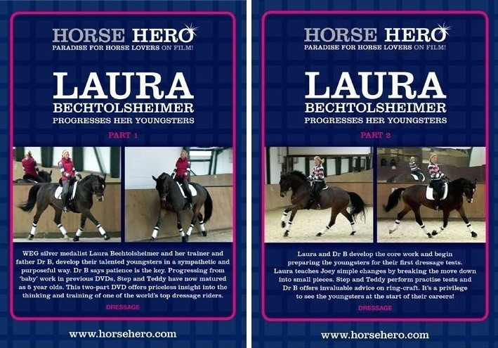 Laura Bechtolsheimer Progresses Her Youngsters 2 Part DVD Series from Trot-Online
