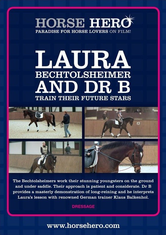 DVD Laura Bechtolsheimer and Dr B Train their Future Stars from trot-online