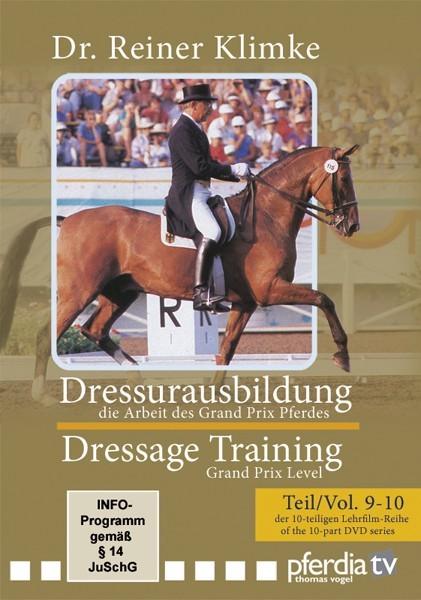 DVD Dr. Reiner Klimke Dressage Training 4: vols 9 & 10 The Work of the Grand Prix Horse from trot-online