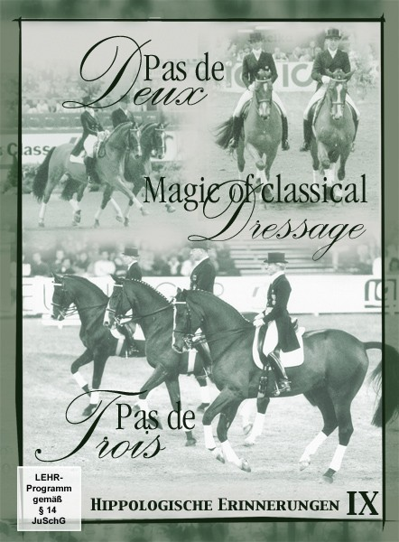 DVD Dr. Reiner Klimke Pas de Deux Pas De Trois and Magic of Classical Dressage from trot-online