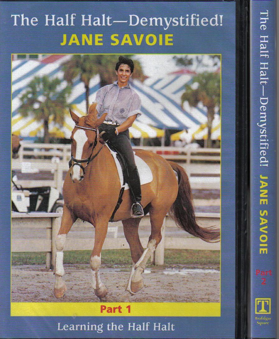 Jane Savoie The Half Halt Demystified 2 DVD set from Trot-Online