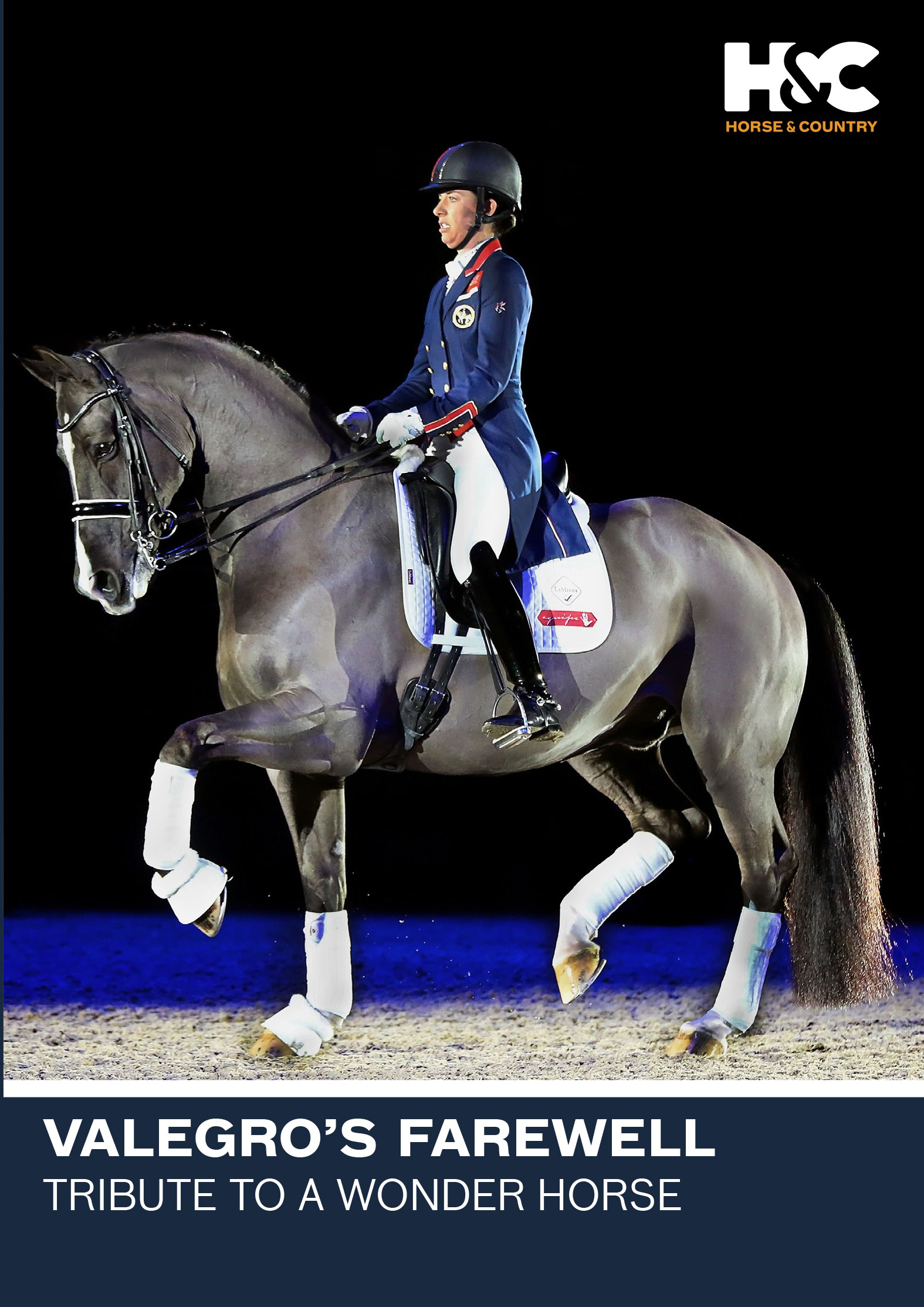 DVD Valegro's Farewell A Tribute To A Wonder Horse from trot-online