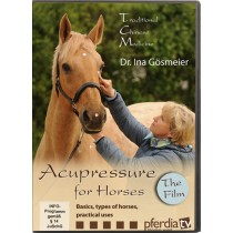 DVD Acupressure for Horses Traditional Chinese Medicine