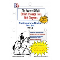 British Dressage 2018 Intro, Prelim and Novice test set with Diagrams