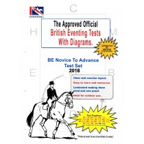 British Eventing Novice to Advanced Dressage Test Set with Diagrams from Trot-Online