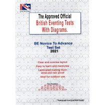 British Eventing BE 2021 Novice to Advanced Dressage Test Set with Diagrams from Trot-Online