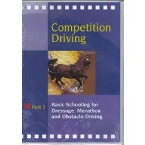 DVD Competition Driving Part 2 Basic Schooling for Dressage, Marathon and Obstacle Driving from Trot-Online