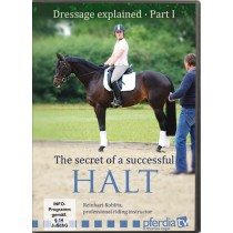 DVD Dressage Explained Part 1: The Secret of a Successful Halt by Reinhart Koblitz