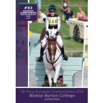 FEI Pony European Championships 2018 Eventing DVD