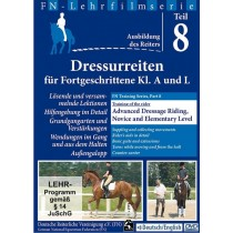DVD FN Training Series Part 8 Advanced Dressage Riding Novice and Elementary Level from trot-online