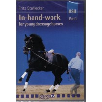 DVD Fritz Stahlecker In Hand Work for Young Dressage Horses Part 1 The Basics from Trot-Online