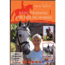 DVD Ingrid Klimke Basic Training for Riding Horses Volume 1 The 4 Year Old Horse from trot-online