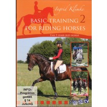 DVD Ingrid Klimke Basic Training for Riding Horses Volume 2 The 5 Year Old Horse from trot-online