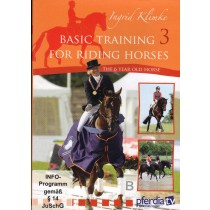 DVD Ingrid Klimke Basic Training for Riding Horses Volume 3 The 6 Year Old Horse from trot-online