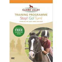 DVD Claire Lilley Training Programme Stop! Go! Turn! from trot-online
