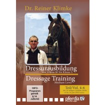 DVD Dr. Reiner Klimke Dressage Training 2: vols 4 to 6 From Medium to Advanced Level from trot-online