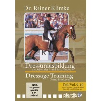 DVD Dr. Reiner Klimke Dressage Training 4: vols 9 & 10 The Work of the Grand Prix Horse from trot-online