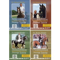Reiner Klimke Dressage Training 4 DVD Set from Trot-Online