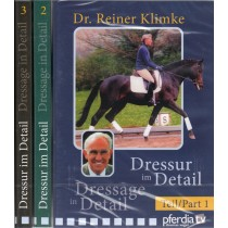 Reiner Klimke Dressage in Detail 3 DVD Set from Trot-Online