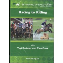 DVD Retraining of Racehorses Racing to Riding with Yogi Breisner and Tina Cook from trot-online