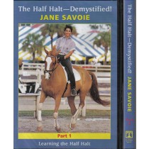 Jane Savoie The Half Halt Demystified 2 DVD set from Trot-Online