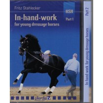 Fritz Stahlecker In Hand Work For Young Dressage Horses 2 DVD Set from Trot-Online