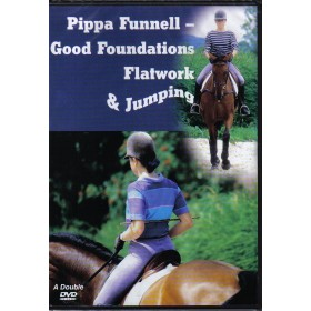 Pippa Funnell Good Foundations Flatwork and Jumping Double DVD