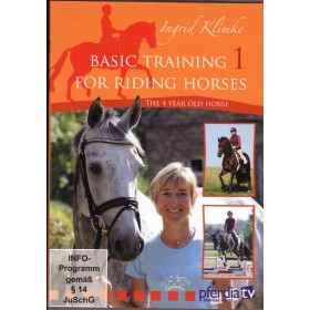 DVD Basic Training for Riding Horses Volume 1 The 4 Year Old Horse by Ingrid Klimke