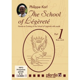 DVD The School of Legerete Philippe Karl part 1 Basic Work