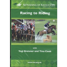 DVD Retraining of Racehorses Racing to Riding with Yogi Breisner and Tina Cook