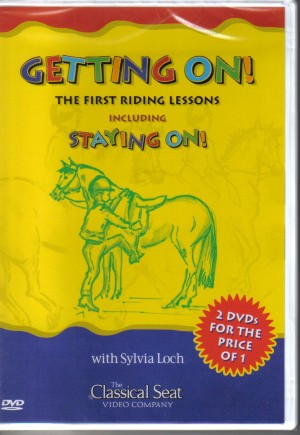 Getting On the first riding lessons and Staying On by Sylvia Loch Double DVD from Trot-Online