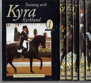Training with Kyra Kyrklund 6 Volume DVD Set from Trot-Online