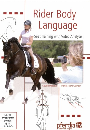 Rider Body Language – Seat Training with Video Analysis DVD from trot-online