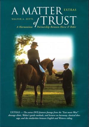 Walter Zettl A Matter of Trust East Meets West DVD